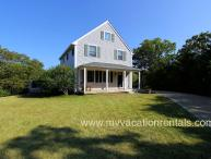 BALAR - Vineyard Meadow Farms Home, Close to Gorgeous Long Point Beach, Contemporary Styling, Central AC, Wi-Fi, Private Yard and Deck