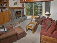 A very affordable vacation home with a Gold rating, across the main road from Vail Golf Club.