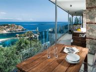 Ionian Riviera Apartment 4 Taormina rental with pool, holiday let in Taormina wi