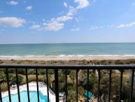 Station One - 6J OV - Oceanfront condo with community pool, tennis, beach