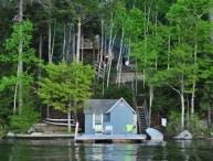 Waterfront in Alton Bay Winnipesaukee(FER25Wf)