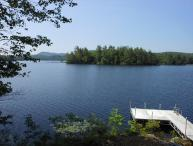 Lovely Waterfront Home on Lake Wicwas (BLO9Wp)