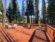 #226 SEQUOIA Stunning home that has a platform with views of the river