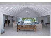 White House at Jolly Harbour, Antigua. Directly on the Beach & Walking Distance to Amenities