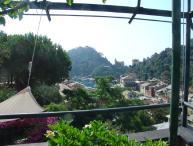 Portofino villa overlooking the harbor and village. SAL ULI
