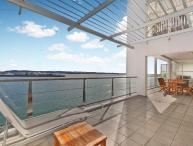 Spacious Waterfront Apartment on 5th Floor Princes Wharf, Auckland with Large West Facing Deck