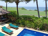 Ocean Golf,  Greg Norman course, 2/4BR Tanah Lot