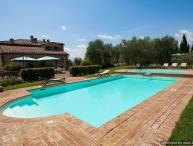 Asciano Delight - Le Four Asciano villa with views, Tuscan villa to let, self catered villa Tuscany