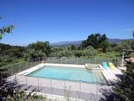 Grambois Vaucluse, Villa 6p private pool, nice view