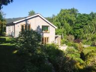 ERW NANT, architect-designed detached, woodburner, gardens, woodburner, WiFi