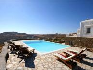BlueVillas | Villa Elektra | Party till sunrise overlooking Super Paradise Beach
