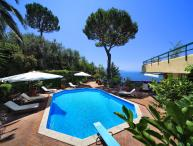 Sorrento Peninsula Villa with Island Views and Pool - Villa Catone