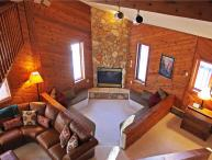 Located at Base of Powderhorn Mtn in the Western Upper Peninsula, A Large Trailside Home with Spacious Open Concept & 4-Person Whirlpool