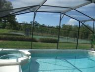 5 Bed Villa with own pool.Sleeps 12 Conservation view. Gated Resort near Disney