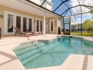 5 bedroom, 4.5 bathroom villa with fantastic games room, private pool and 2 living rooms