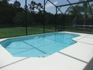 Luxury Villa, own private pool with Conservation view. Gated Resort near Disney