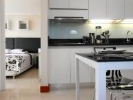 Minimal 1 Bedroom Apartment in Las Condes