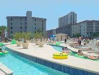 Lazy River Water Park on property at MYRTLE BEACH RESORT