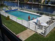 Gulf Access condo 1 BDR. large pool, boat dock