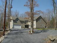 ONE OF A KIND POCONOS PROPERTY - Sleeps 23 on 25 PRIVATE Acres!