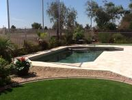 GOLF COURSE, HEATED POOL,  PUTTING GREEN IN YARD