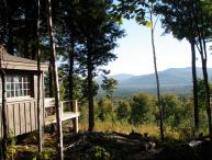 Secluded Off-grid Mountain Cabin | Panoramic Views | ATV/Hike from Cabin