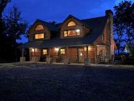 Sky High Sanctuary Custom Canadian Log Home