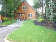 5 Star cabin with pool directly on the Parkway!