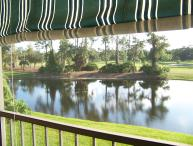 Golf Course Condo with view of fairways and golf