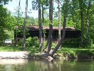 Mid River Dream Shenandoah River Waterfront Cabin w/ Hot Tub & Mountain Views