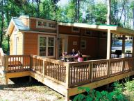 Christmas Cabin in Lake Rudolph Campground and RV Resort
