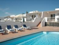 Villa in Puerto del Carmen with heated gated pool and great sea views LVC198987