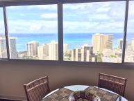 Awesome Ocean Views, 1 BR, 43rd floor, Waikiki, HI