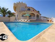 6 bedroom Villa in Calpe, Costa Blanca, Spain : ref 2209069