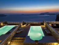 Blue Villas | Hestia| Luxurious sunsetviews