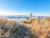 Oceanfront Beauty Next to Beach Access!