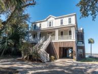 The Tabby House - Folly Beach, SC - 6 Beds BATHS: 5 Full 1 Half