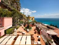 Sicily Villa with Pool for Two Groups in Taormina - Casa Taormina