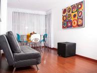 Colorful 2 Bedroom Apartment in Chapinero Alto