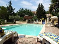 4 bedroom Villa in Carpentras, Provence, France : ref 2015289