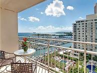 Ocean View Ilikai Condo with FREE PARKING!
