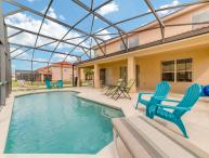 Orlando Disney villa, private pool, gated resort, near golf