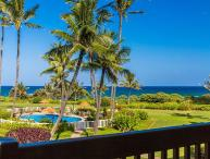 Kaha Lani Resort #206, Ocean View, Steps to the Beach, Free Wifi & Parking!