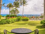 Kapaa Shore Resort #118, Ocean View, Walk to Town, Bike Path, Comp Wifi & Pkg