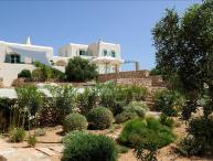 Greek Villas Paros - Private Villa I on  stunning Seafront Estate  with pool and amazing sunsets & 5