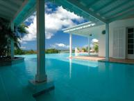 5+2 bedroom villa overlooking the caribean sea and sunset