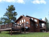 Pine Vista, a beautiful home located in Pagosa Springs, offers a serene and