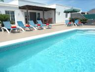 Great 3 bed villa in Playa Blanca with heated pool LVC227774