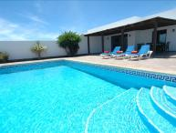 Great 3 Bedroom Villa with Private Heated Pool, Air Con, WiFi, BBQ  LVC227855