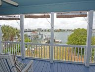 Creasy Cottage - The best sunsets on Wrightsville in this top floor duplex